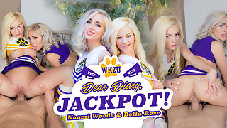 Dear Diary, Jackpot With Naomi Woods and Bella Rose