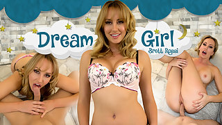 Brett Rossi is going to be your virtual reality Dream Girl