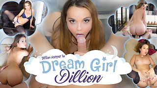Dillion Harper is your virtual reality Dream Girl