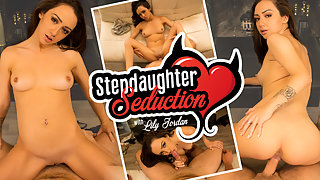 Breaking in the new stepdaughter with my stiff weiner