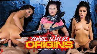 The origin story of the zombie slayers